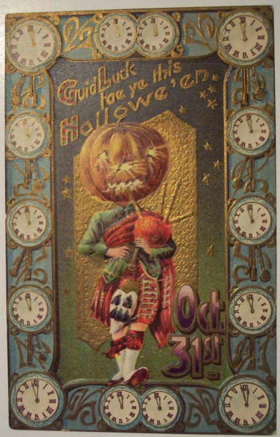 Ilustracion Halloween antigua 177
