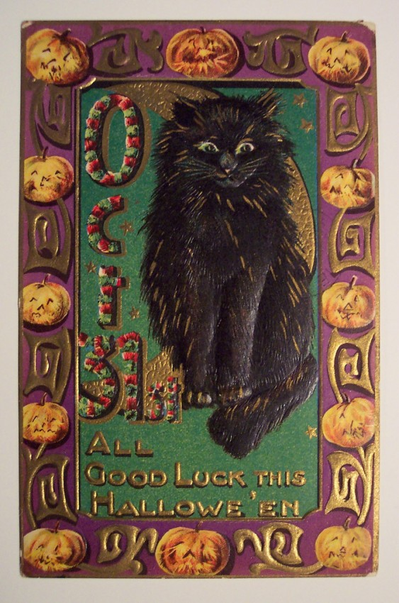 Ilustracion Halloween antigua 178