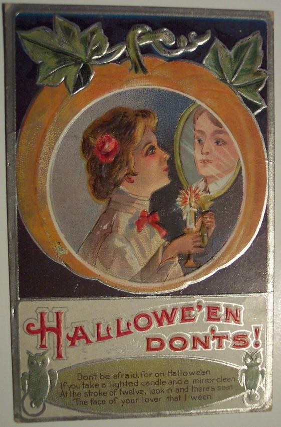 Ilustracion Halloween antigua 180