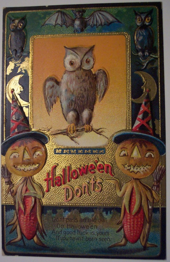 Ilustracion Halloween antigua 181