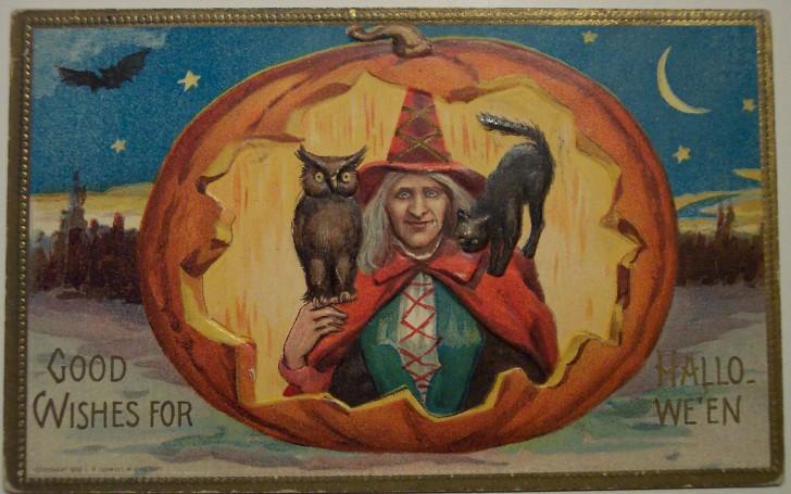 Ilustracion Halloween antigua 182