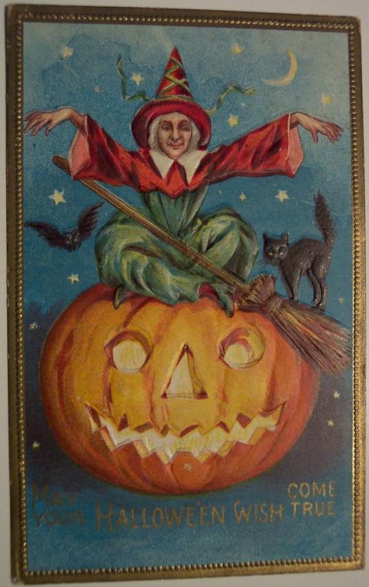 Ilustracion Halloween antigua 183