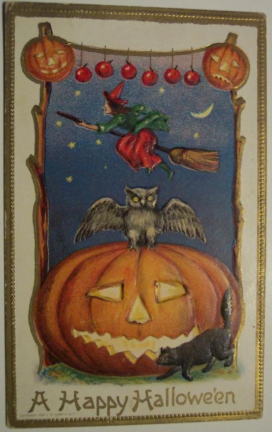 Ilustracion Halloween antigua 184