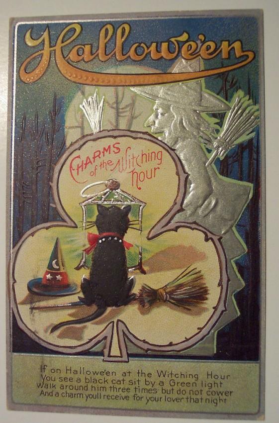 Ilustracion Halloween antigua 185