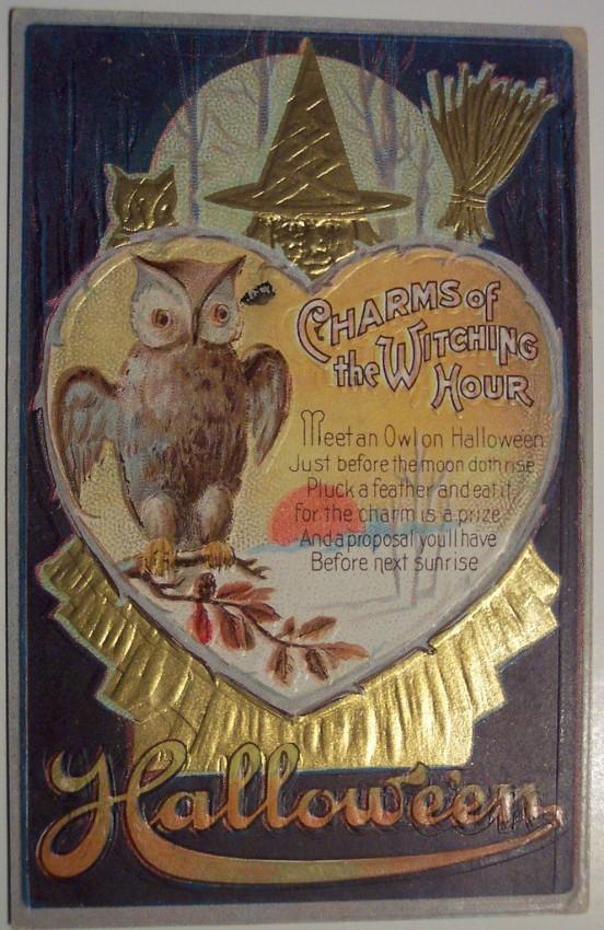 Ilustracion Halloween antigua 186