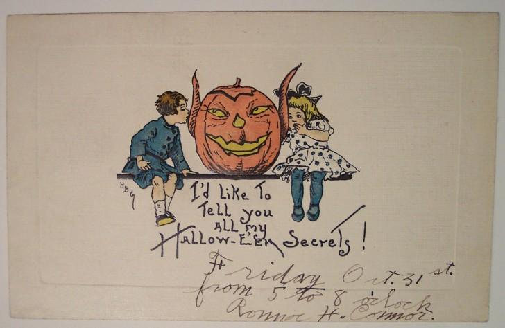 Ilustracion Halloween retro 003