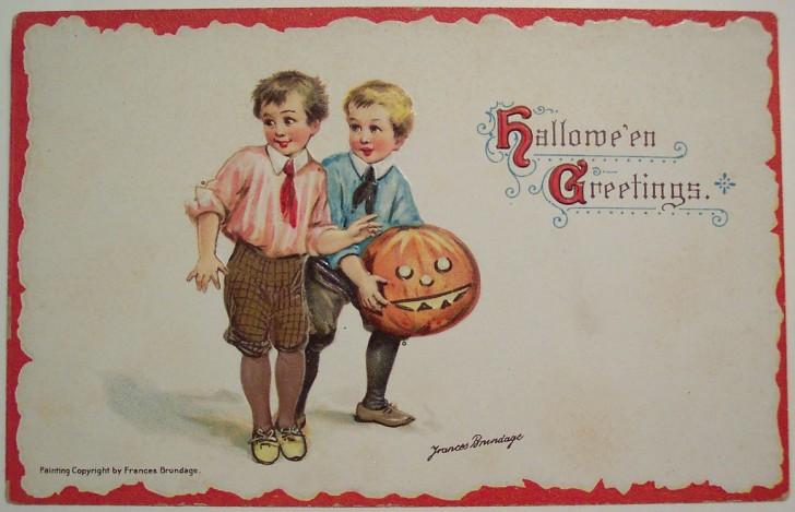 Ilustracion Halloween retro 004