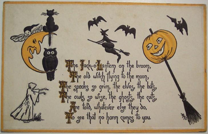 Ilustracion Halloween retro 006
