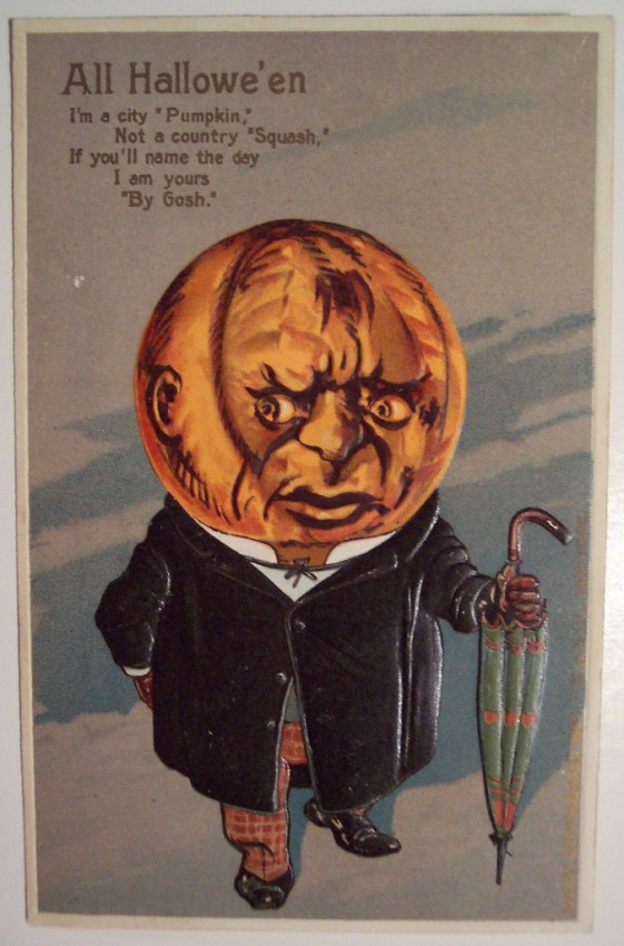 Ilustracion Halloween retro 007