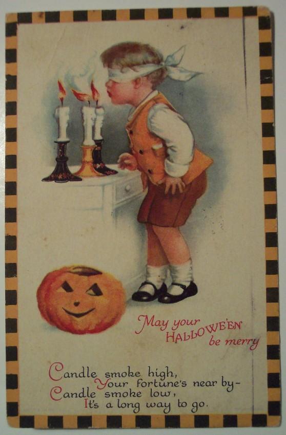 Ilustracion Halloween retro 008