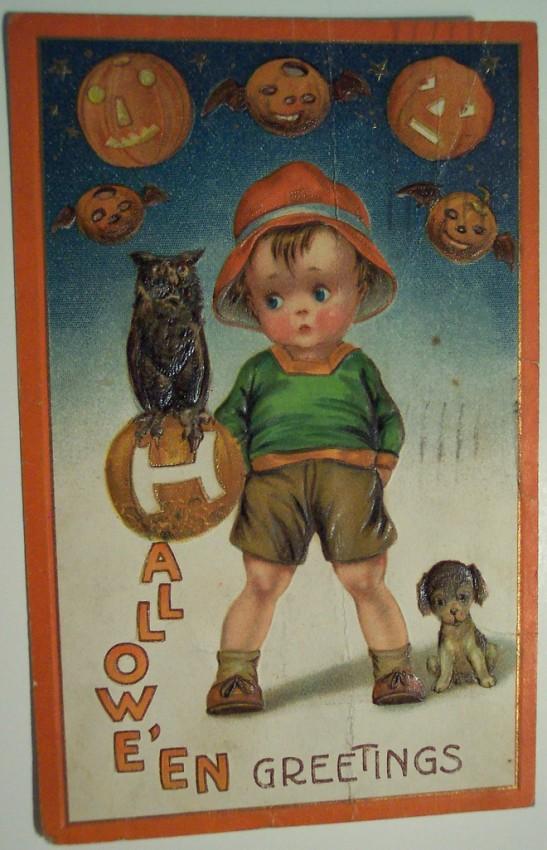 Ilustracion Halloween retro 009