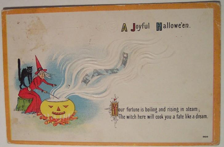 Ilustracion Halloween retro 012