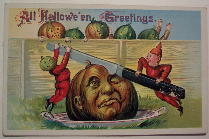 Ilustracion Halloween retro 013