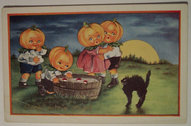 Ilustracion Halloween retro 016