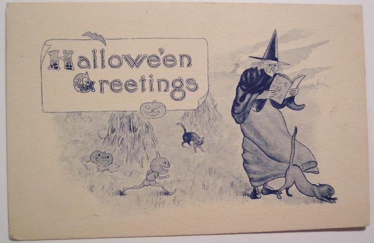 Ilustracion Halloween retro 017