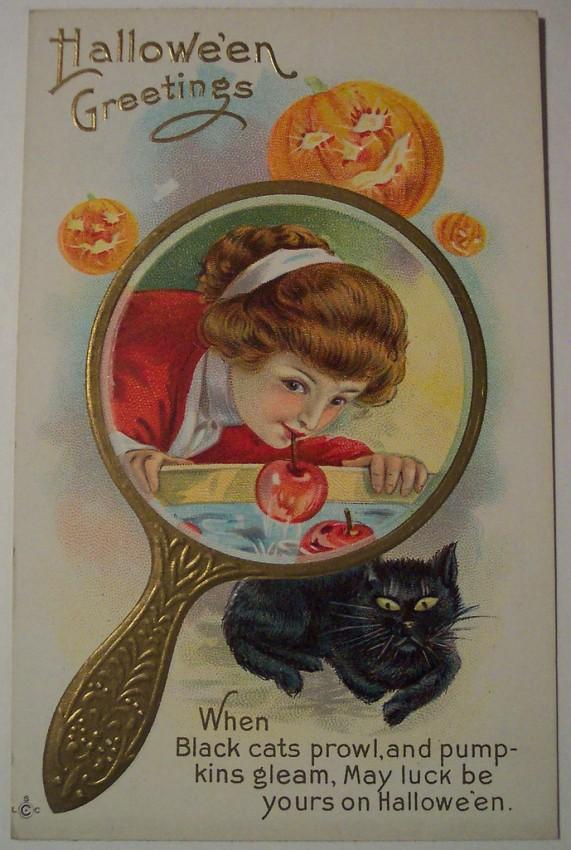 Ilustracion Halloween retro 018
