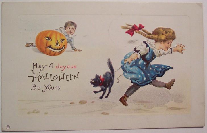 Ilustracion Halloween retro 019