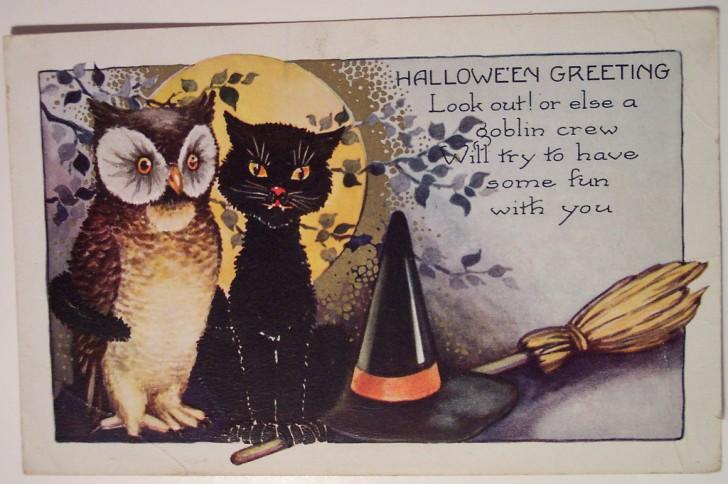 Ilustracion Halloween retro 021