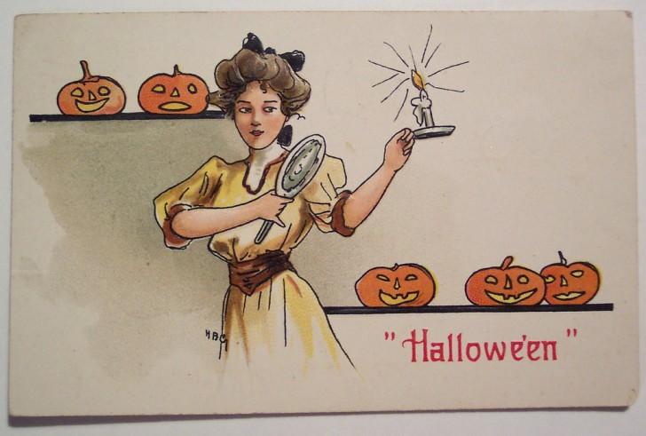 Ilustracion Halloween retro 024
