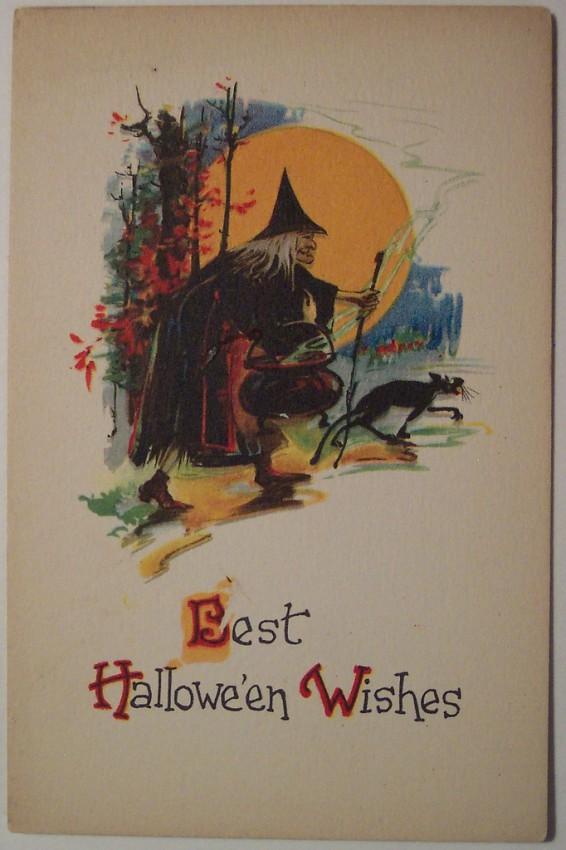 Ilustracion Halloween retro 026