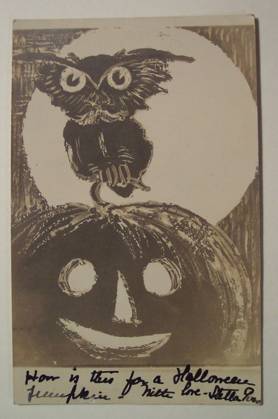 Ilustracion Halloween retro 027