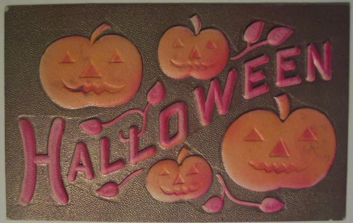 Ilustracion Halloween retro 028