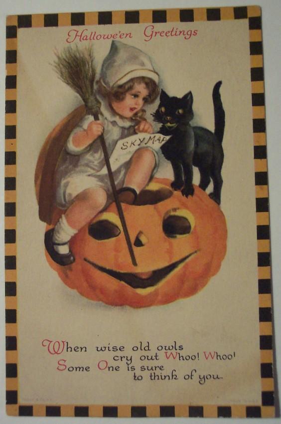 Ilustracion Halloween retro 035