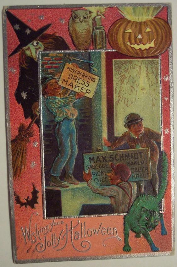 Ilustracion Halloween retro 036