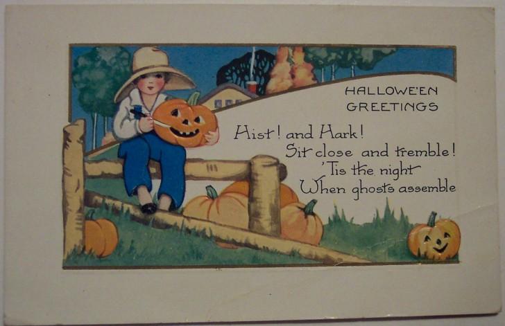 Ilustracion Halloween retro 037