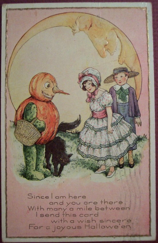 Ilustracion Halloween retro 041