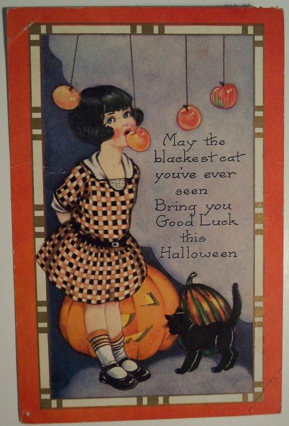Ilustracion Halloween retro 043