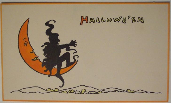 Ilustracion Halloween retro 045