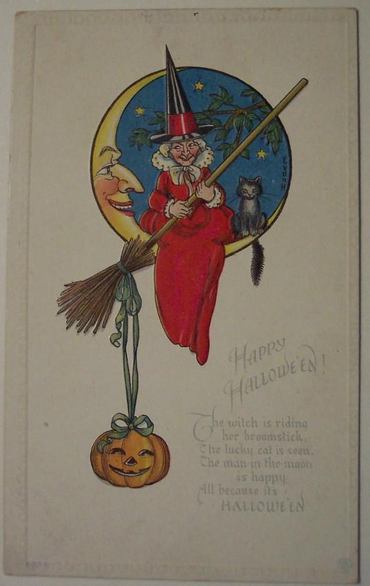 Ilustracion Halloween retro 046