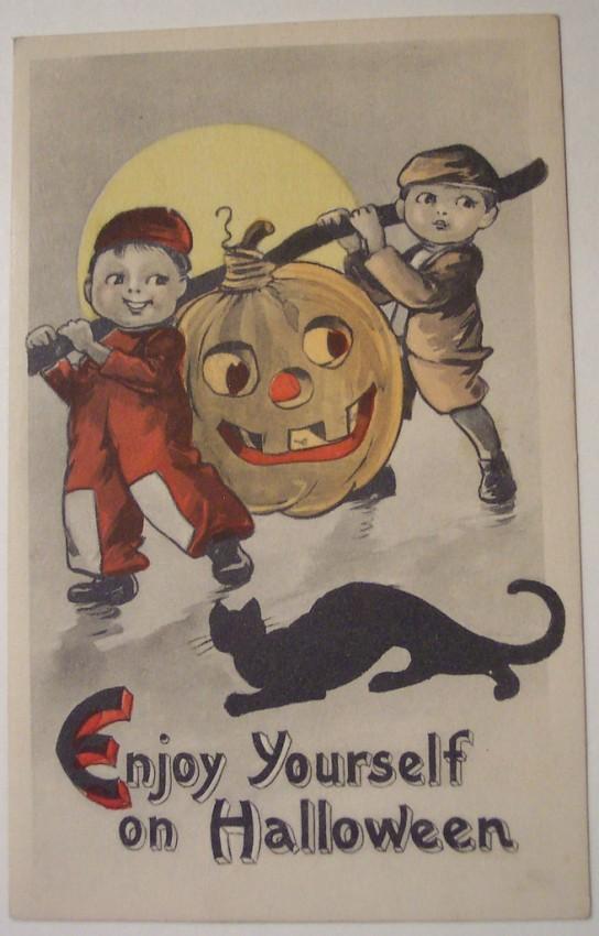 Ilustracion Halloween retro 049