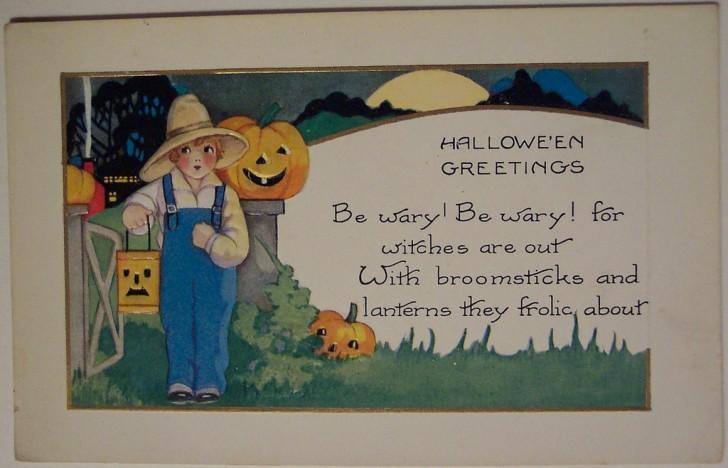 Ilustracion Halloween retro 050