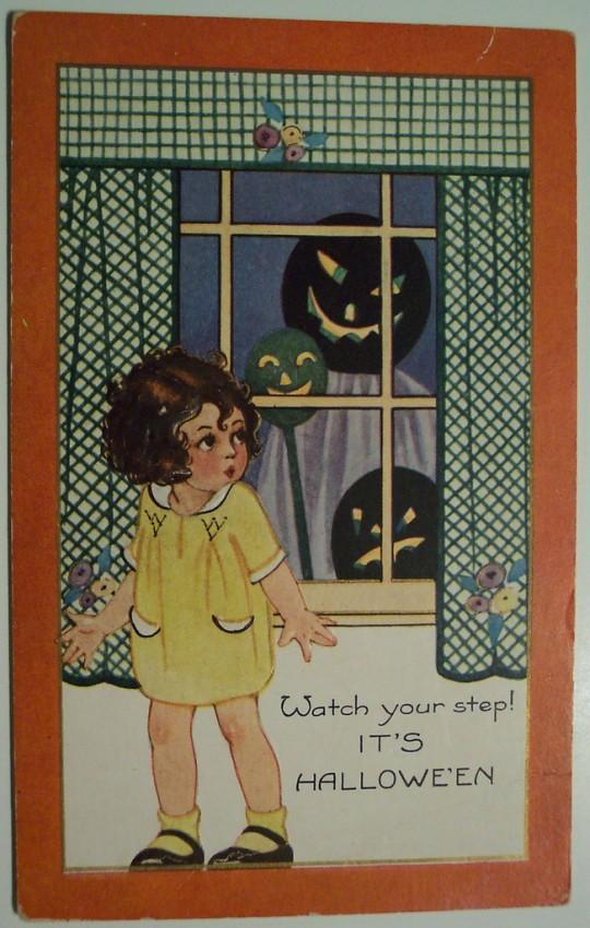 Ilustracion Halloween retro 055