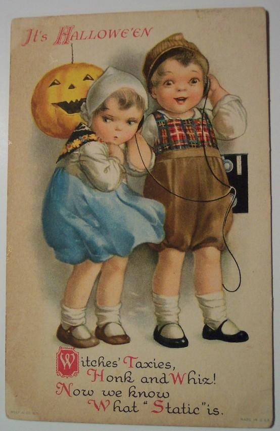 Ilustracion Halloween retro 058
