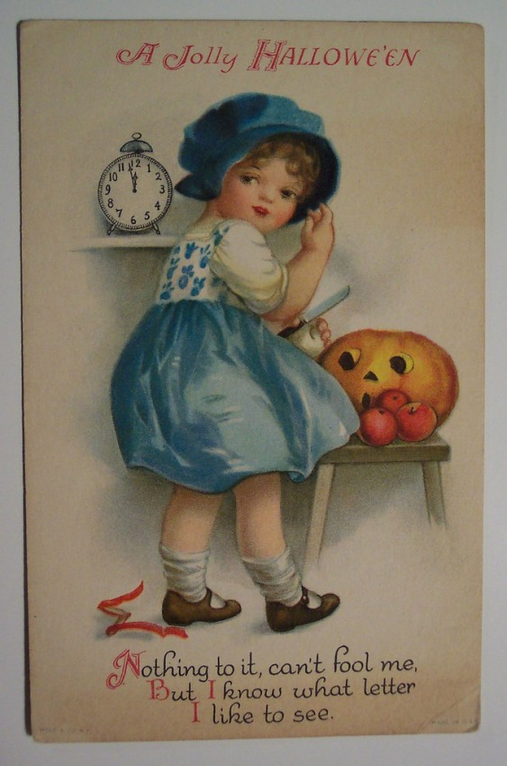 Ilustracion Halloween retro 059