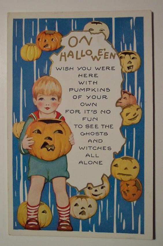 Ilustracion Halloween retro 060