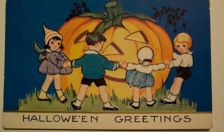 Ilustracion Halloween retro 061