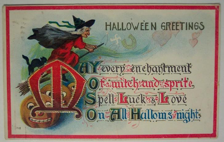 Ilustracion Halloween retro 062