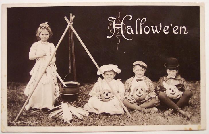 Ilustracion Halloween retro 063