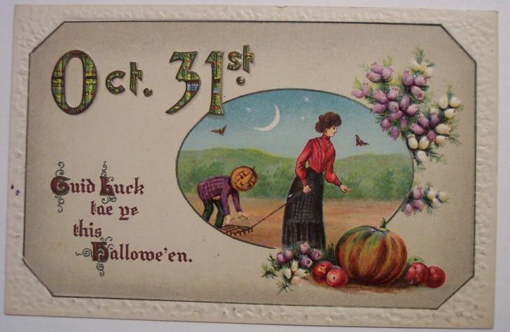 Ilustracion Halloween retro 064