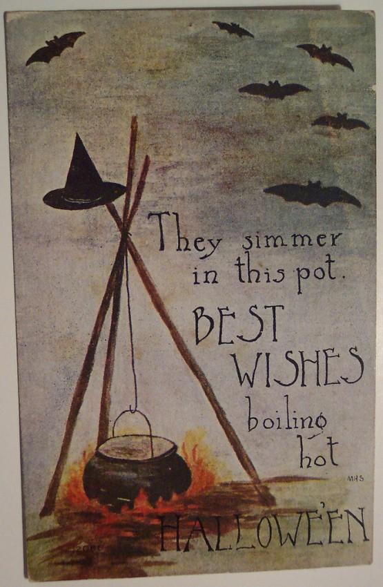 Ilustracion Halloween retro 065