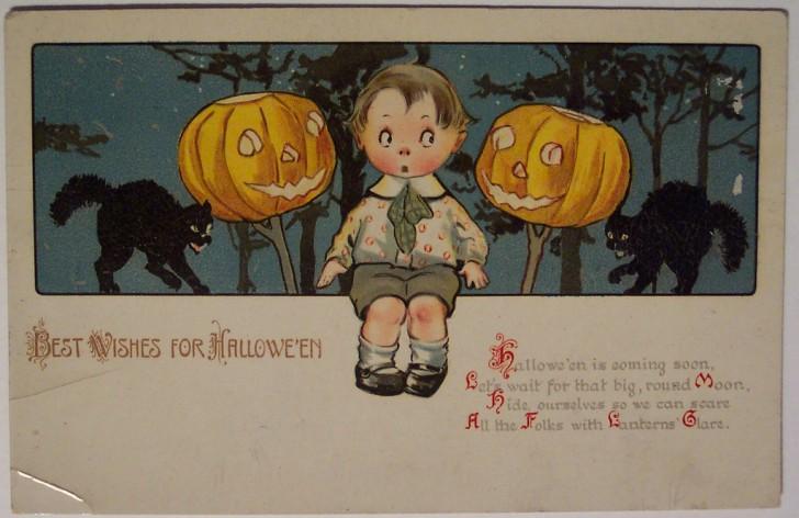 Ilustracion Halloween retro 066