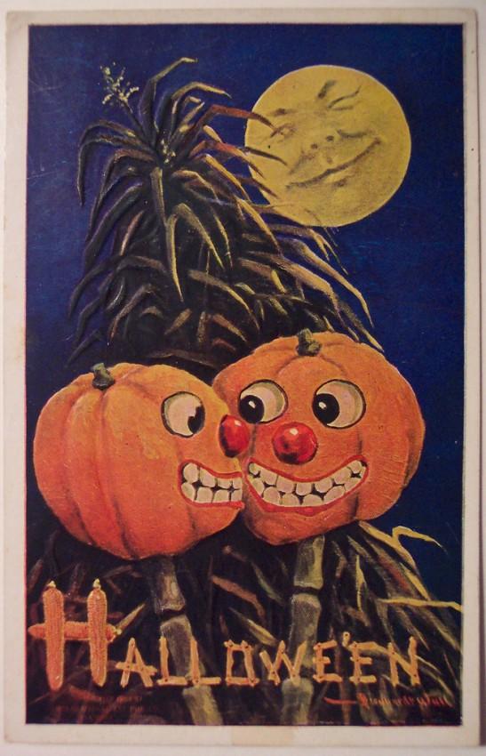 Ilustracion Halloween retro 067