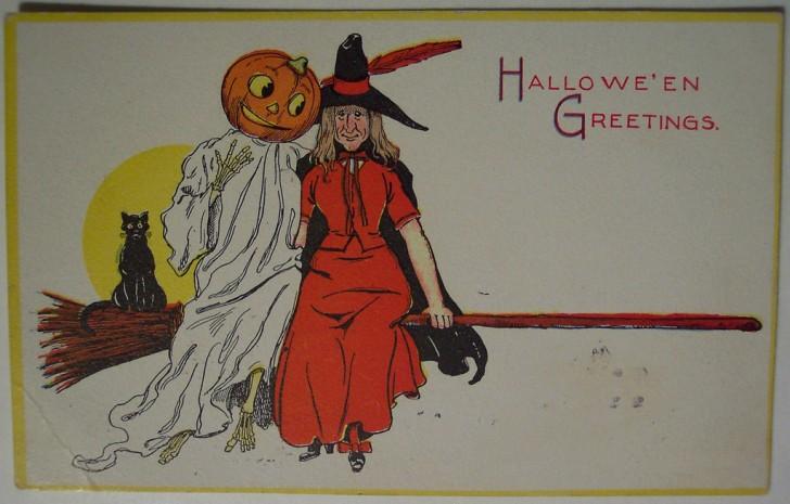 Ilustracion Halloween retro 068