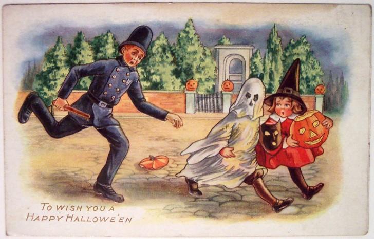 Ilustracion Halloween retro 071