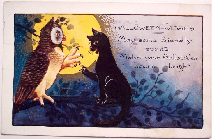 Ilustracion Halloween retro 074