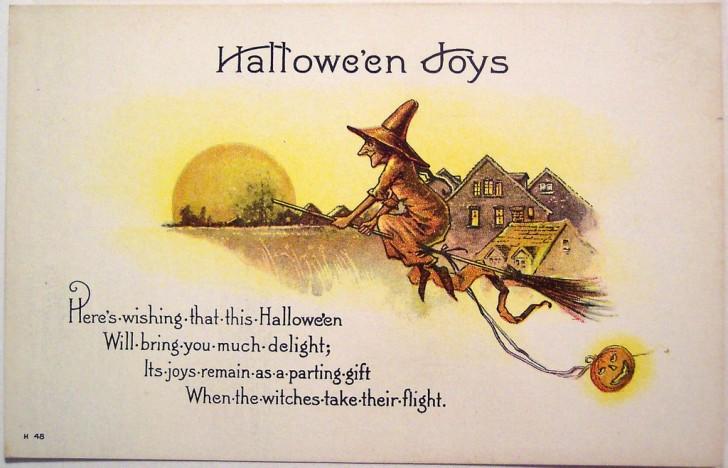 Ilustracion Halloween retro 077